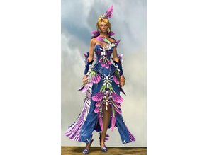 GW2 Spring Promenade Outfit and Elementist armor