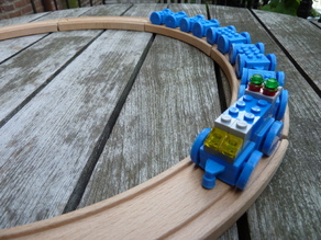 Toy Train for Legos