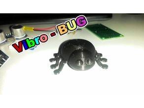 vibro-bug on the 3D printer.