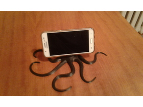 Squid Mobile or foto stand