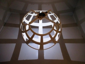 Illumination for Stereographic Projection