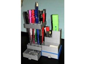 modular desk organizer