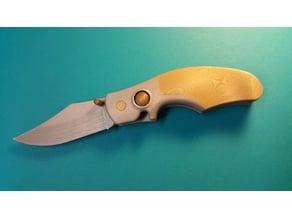 Knife Astroller - Couteau Astroller pliant à cran d'arrêt.