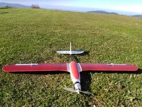 """Evolution""  kit trainer conversion 3d printed plane"