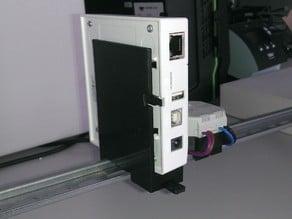 xComfort SHC Vertical+Horizontal DIN rail mount