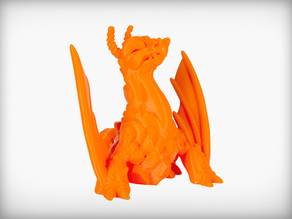 Eruptron the Volcano Dragon