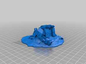 Dreadnought Wreck for 28mm Gaming