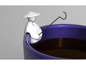 fisherman tea bag