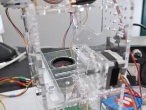 Selective Laser Sintering: Powder test rig