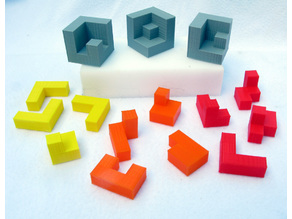 Puzzles from Pentacubes