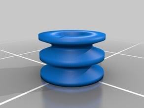 Doppelriemenscheibe / double pulley wheel 60/24 mm