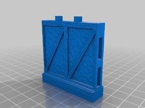 "OpenLock 5.0 Wall ""A"" Tudor, Wood Styles"