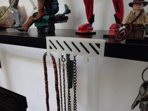 Necklace Shelf Holder