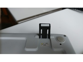 Keyboard foot for Logitech K270 with rubber pad