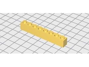 brique lego 1X8