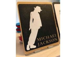 Cadre Portrait Michael Jackson