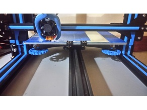 Creality CR-10 X axis horizontal leveling rulers system
