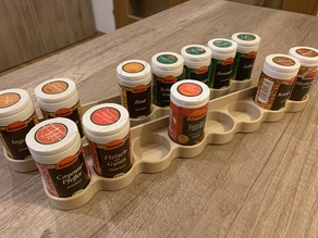 Spice shelf (8 spice)
