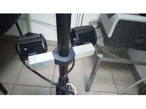 Universal Scooter / bicycle Stem mounting Bracket