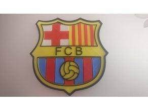 Futbol Club Barcelona - FCB - Shield Logo