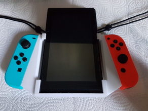 Nintendo Switch Vertical/Portrait Grip with Strap Holders