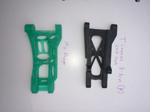 Traxxas Slash 2WD Part 2555 Modified Rear Suspension Arms