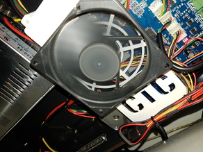 CTC Stepperdriver Cooling Fan Holder 92mm
