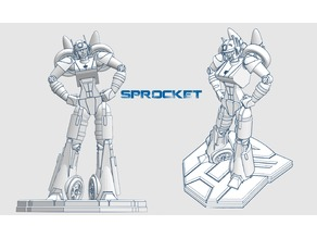 Transformer OC - Sprocket [Complete]