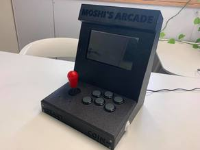 3D Printed Bartop (Desktop) Arcade