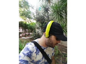 Headphones handband for Koss KSC-75 mod Fibonacci-style