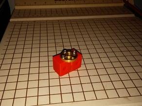 NCS P3-v Steel Brass Lead screw mount