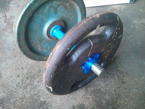 Star Nut / Grip for Dumbbell