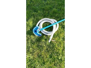 Pool vacuum cleaner connector for INTEX filter hose