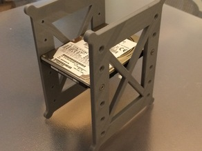 Six 2.5 inch HDD SSD mounting caddy