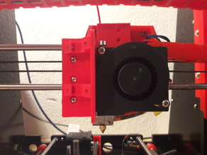 Anet-A8 Multi functional extruder fan hinge + runout filament sensor + tooling support