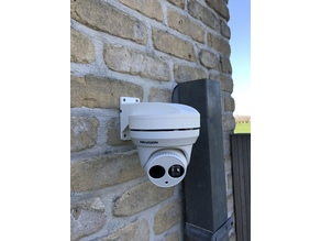 Wall mount Hikvision Turret Camera DS-2CD23XXWD-I