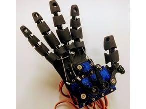 Flexible robot hand