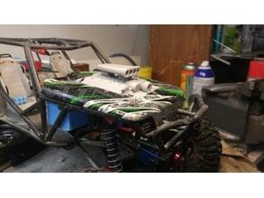 Axial wraith motor receiver box cover