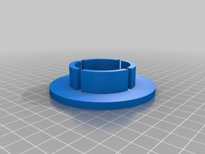 Filament Spool HDD Bearing Adaptor Redux