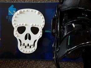 Skull Snowboard Stomp Pad