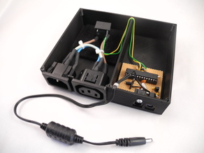 Squeezebox Amplifer Power Switch