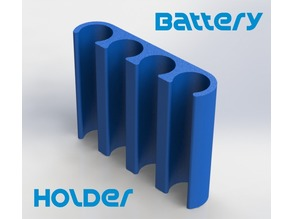 Battery Holder - AAA Size