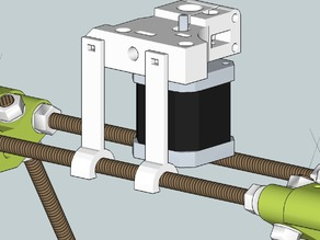 Higher mounted extruder RepRapPro mendel and tricolor mendel