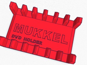 Mukkel DVD/games Holder