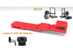 Support logitech c525 Anet e10