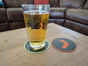 Plex Beer Coaster