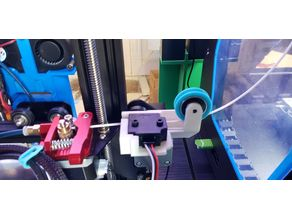 Ender 3 EZout + Filament Roller Guide 2 in 1