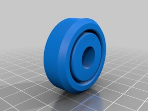 3D Printed Roller Bearing V2- One Piece