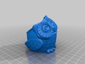 Owl Flower Pot v3