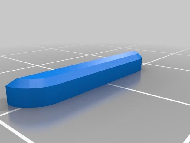 Tesla Lug Nut Cap For Aero Wheels By Ellioal Thingiverse